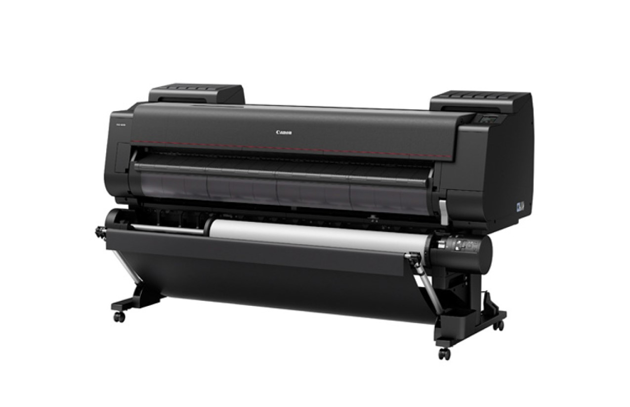 Photo of a large format printer